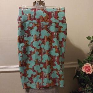 ❤NWT Lularoe Mickey Animal Kingdom Cassie Skirt